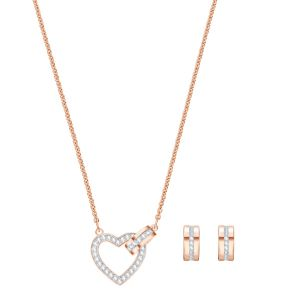 Swarovski Lovely Set Rose Gold Plated