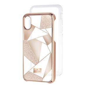 Swarovski_Heroism_iPhone_X_Case_Rose_Gold
