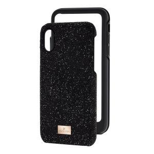 Swarovski High Smartphone Case with Bumper, iPhone® X, Black