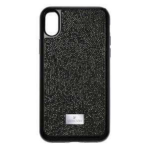 Swarovski Glam Rock Smartphone Case with integrated Bumper, iPhone® X, Black