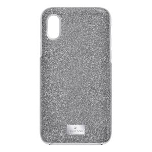 Swarovski High Smartphone Case with Bumper, iPhone® X, Grey