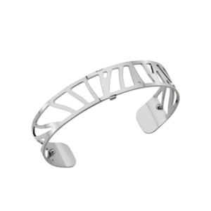 Les Georgettes Perroquet 14mm Silver Finish Bangle
