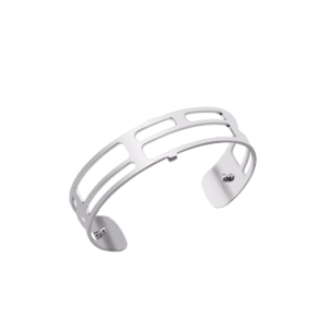 Les Georgettes Labyrinthe 14mm Silver Finish Bangle