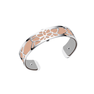 Les Georgettes Nenuphar 14mm Silver Finish Bangle