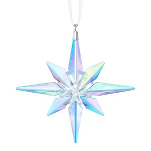 Swarovski Crystal Star Ornament - Crystal AB