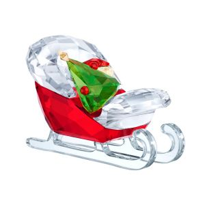 Swarovski Crystal Santa's Sleigh