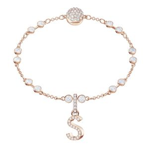Swarovski Remix Collection Charm S, White, Rose gold plating
