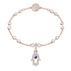 Swarovski Remix Collection Hamsa, Multi-coloured, Rose gold plating