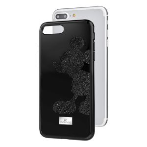 Swarovski Mickey Body Smartphone Case With Integrated Bumper,  IPhone® 8 Plus, Black