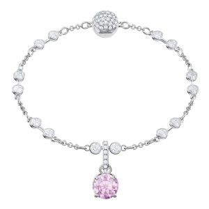Swarovski Remix Collection Charm, June, Violet, Rhodium plating