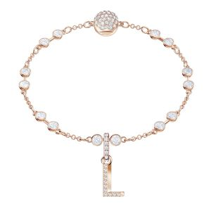 Swarovski Remix Collection Charm L, White, Rose Gold Plating
