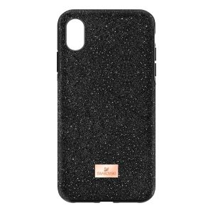 Swarovski High Smartphone Case with Bumper, iPhone® XR, Black