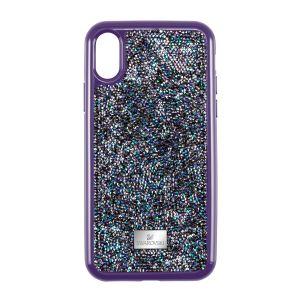 Swarovski Glam Rock Smartphone Case, iPhone® X, Purple