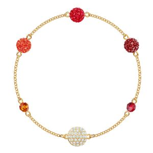 Swarovski Remix Collection Pop Strand, Multi-Coloured, Gold Plating