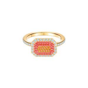 Swarovski No Regrets Ring, Multi-coloured, Gold plating