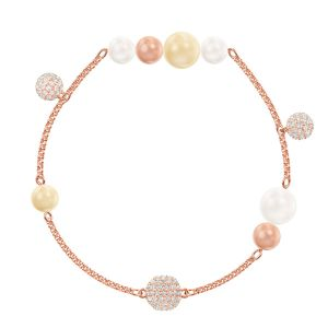 Swarovski Light Multi Remix Bracelet, Rose Gold Plating