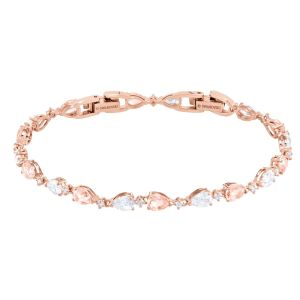 Swarovski Vintage Bracelet, Pink, Rose Gold Plating