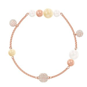 Swarovski Light Multi Remix Bracelet, Large, Rose Gold Plated