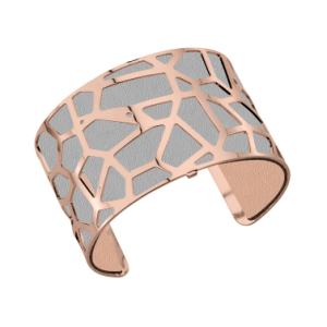 Les Georgettes Girafe 40mm Rose Gold Finish Bangle