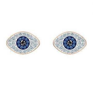 Swarovski Symbolic Stud Pierced Earrings, Rose Gold Plating