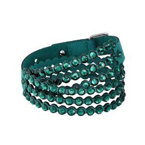 Swarovski Power Collection Slake Bracelet, Green