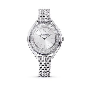 Swarovski Crystalline Aura Watch, Metal Bracelet, Silver tone - Stainless Steel