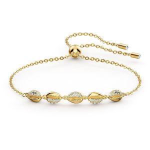 Swarovski Shell Cowrie Bracelet - Gold Plating