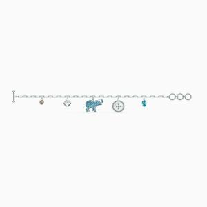 Swarovski Symbolic Bracelet - Rhodium Plated