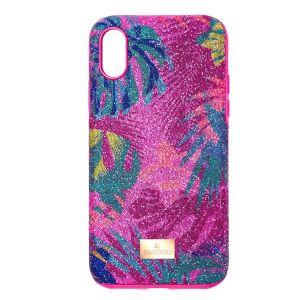 Swarovski Tropical Smartphone Case - Pink - iPhone X/XS