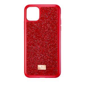 Swarovski Glam Rock Smartphone Case With Bumper - Iphone 11 Pro - Red