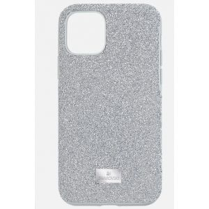 Swarovski High Smartphone Case, iPhone 11 Pro, Silver Tone