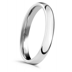 Brown & Newirth 'Sleek' Wedding Band, For Her