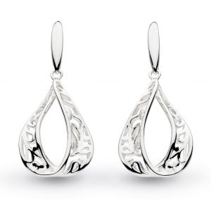 Kit Heath Blossom Flourish Teardrop Earrings