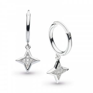 Kit Heath Empire Astoria Stardust Hoop Drop Earrings