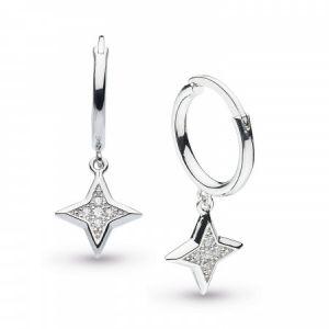 Kit Heath Empire Astoria Stardust Hoop Drop Earrings