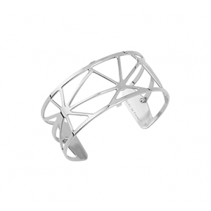 Les Georgettes Solaire 25mm Silver Finish Bangle