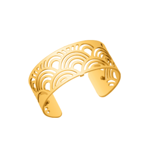 Les Georgettes Poisson 25 mm Gold Finish Bangle