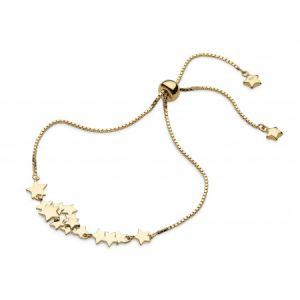 Kit Heath Stargazer Galaxy Gold Plate Toggle Bracelet