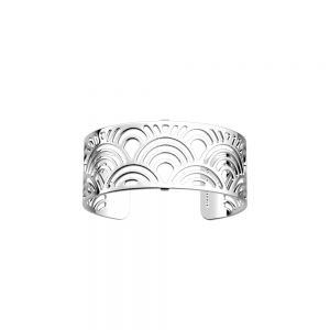 Les Georgettes Palmeraie 25mm Silver Bangle  70295921600000