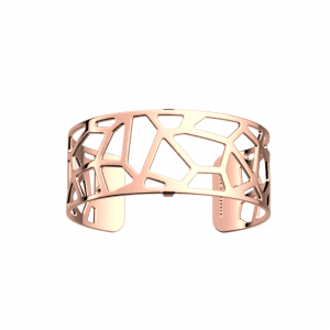 Les Georgettes Girafe 25mm Rose Finish Bangle