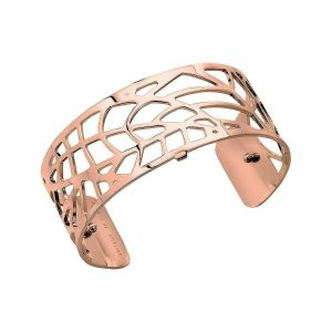 Les Georgettes Fougere 25mm Rose Gold Bangle Cuff