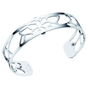 Les Georgettes Nenuphar 14mm Silver Plated Bangle Cuff