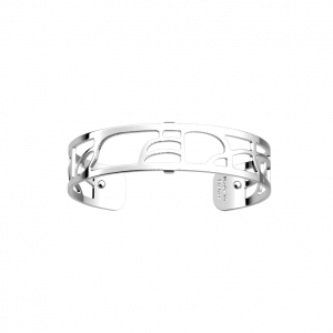 Les Georgettes Volute 14mm Silver Finish Bangle