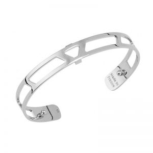 Les Georgettes Ibiza 8mm Silver Finish Bangle