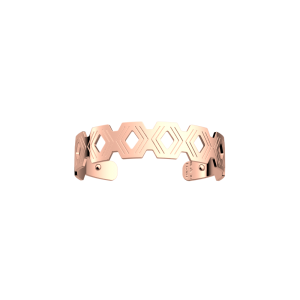 Les Georgettes Pavillon 14mm Rose Gold Finish Bangle