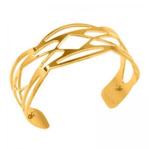 Les Georgettes Apache Bracelet, 14 mm, Gold Finish