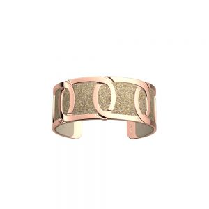 Les Georgettes Maillon 25mm Gold Finish Bangle 70333940100000