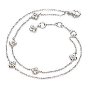 Kit Heath Blossom Flyte Honey Flower Double Bracelet