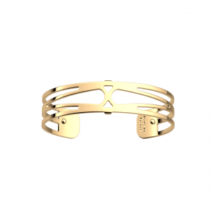 Les Georgettes Garden 14mm Gold Finish Bangle
