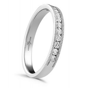 Brown & Newirth 'Everlasting' Half Eternity Ring